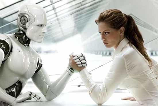 Dame robot håndbak