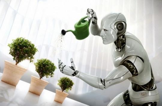 Robot vanne blomster