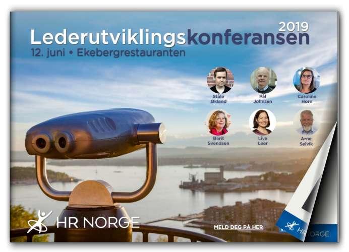 Lederutviklingskonferansen 2019 Forside