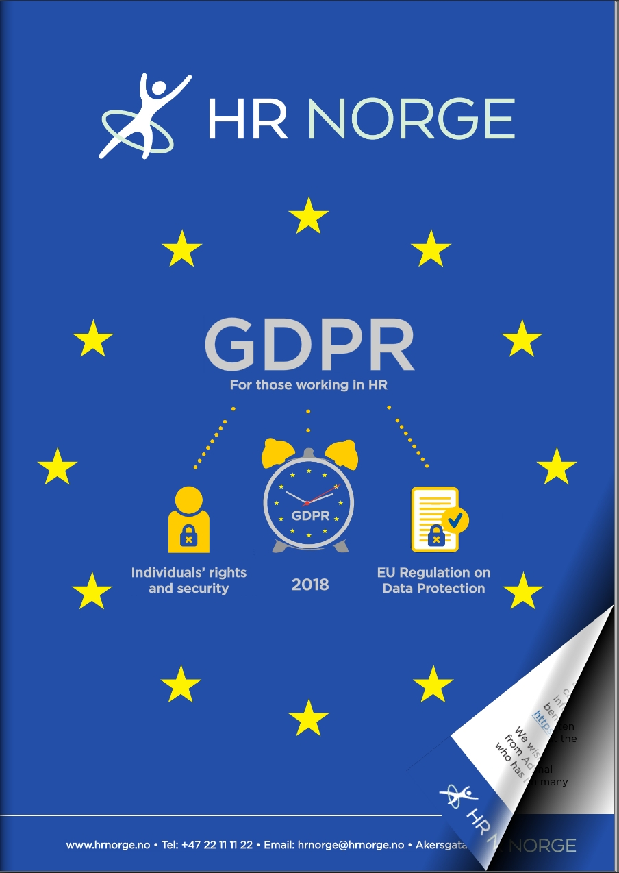 GDPR guide for HR in English