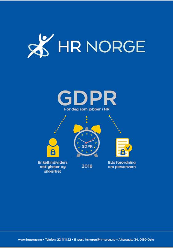 GDPR veiledning for HR