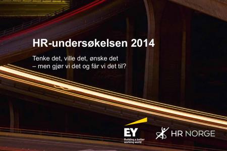 HR Undersøkelsen 2014