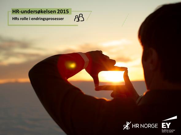 HR Undersøkelsen 2015 - endringsarbeid