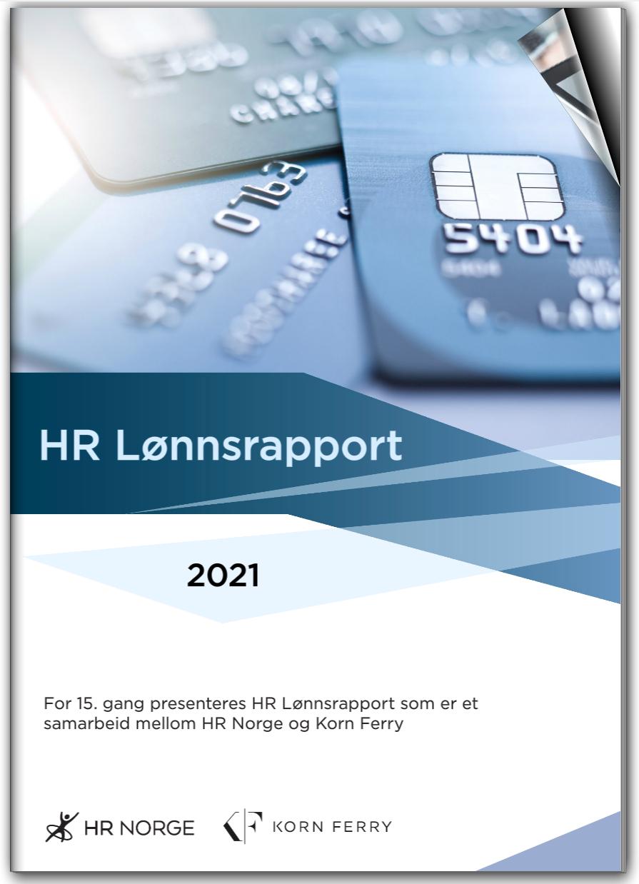 HR Lønnsrapport 2021