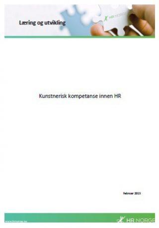 Temaark Kunstnerisk kompetanse innen HR