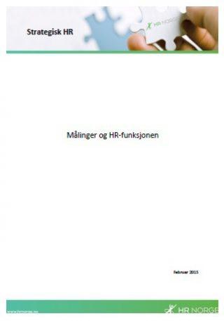 Temaark Målinger og HR funksjonen
