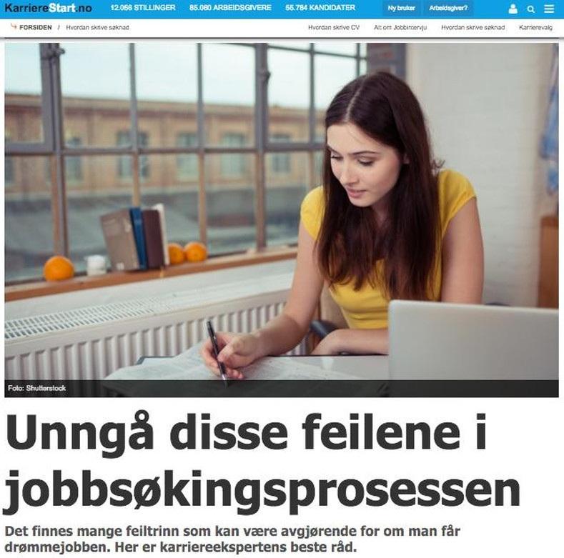 2015 12 10 Karrierestart Unngaa disse feilene i jobbsoekingsprosessen illustrasjon