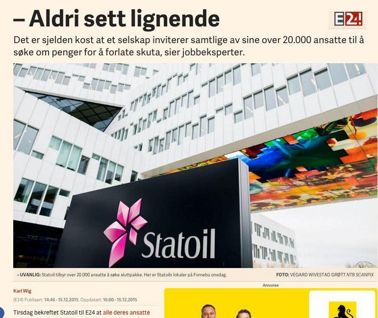 2015 12 14 E24 Jobbeksperter om Statoils kutt grep Aldri sett lignende cropped