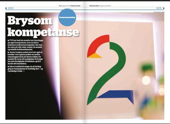 2017 01 06 Ukeavisen Ledelse Brysom kompetanse