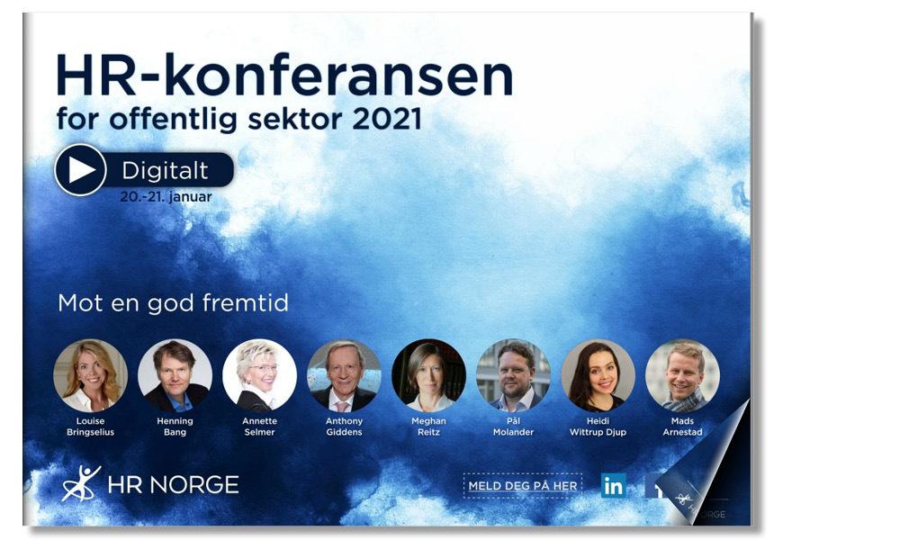 Forside program HR Konferansen for offentlig sektor 2021
