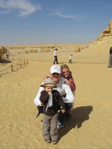 HR profilen Per Harald Engesaeth i Egypt