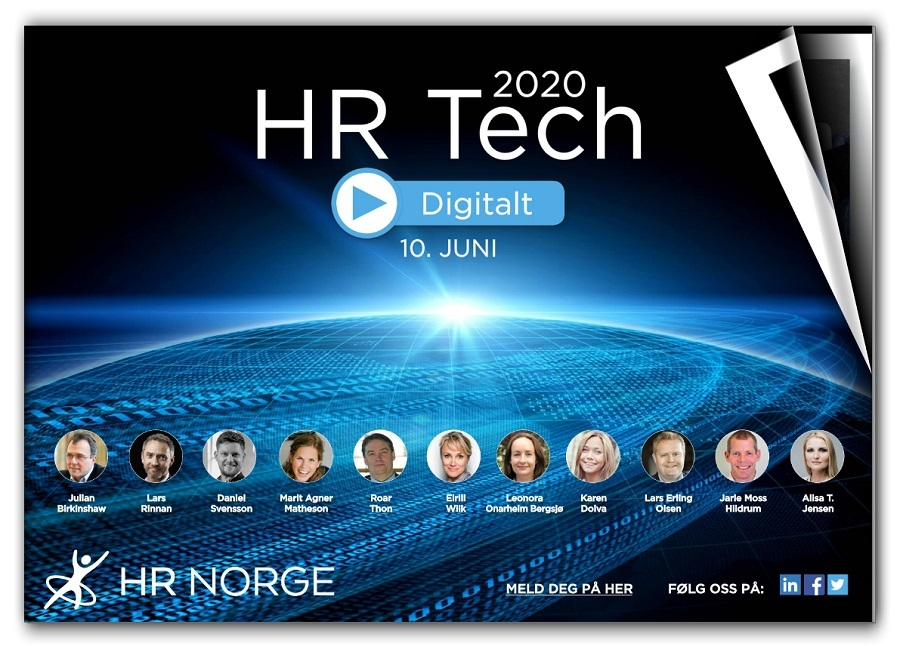 Forside program HR Tech 2020 - Digitalt