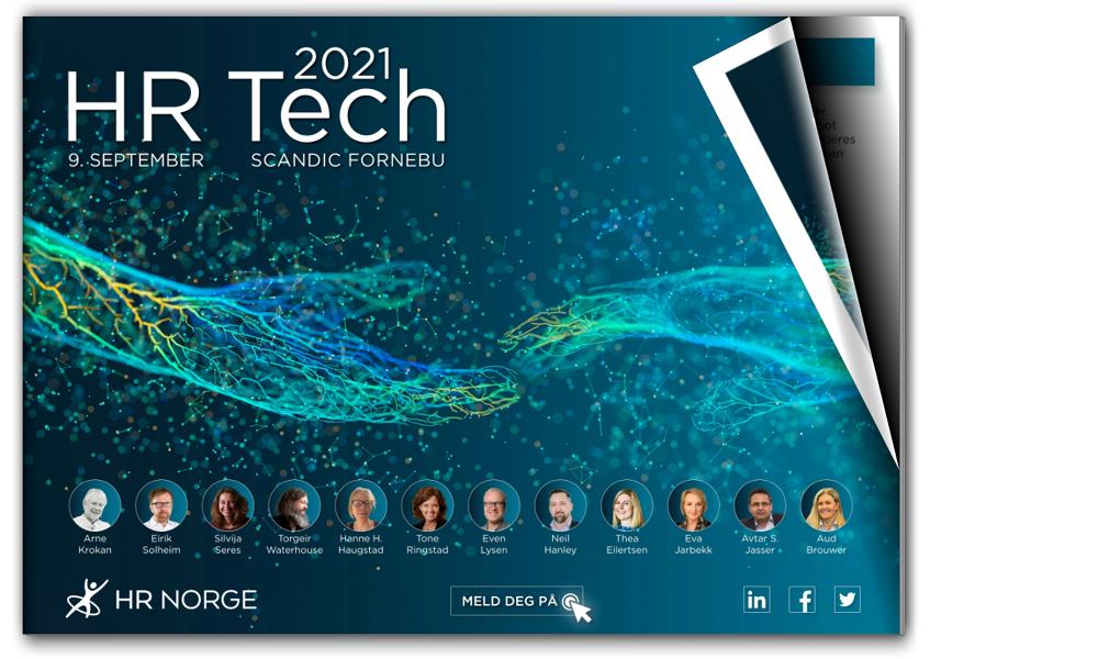 Forside program HR Tech 2021