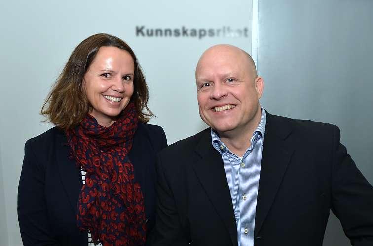 Marianne Naess og Rune Kiilstofte