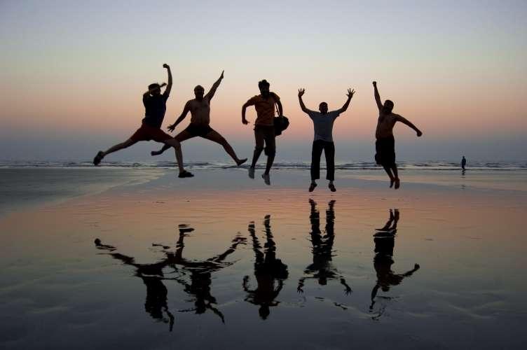 Happy people photo lallt shahane flickr cc
