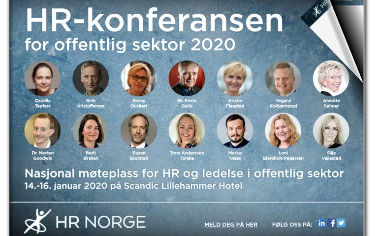 HR konferansen for offentlig sektor 2020 Forsidebilde NYESTE