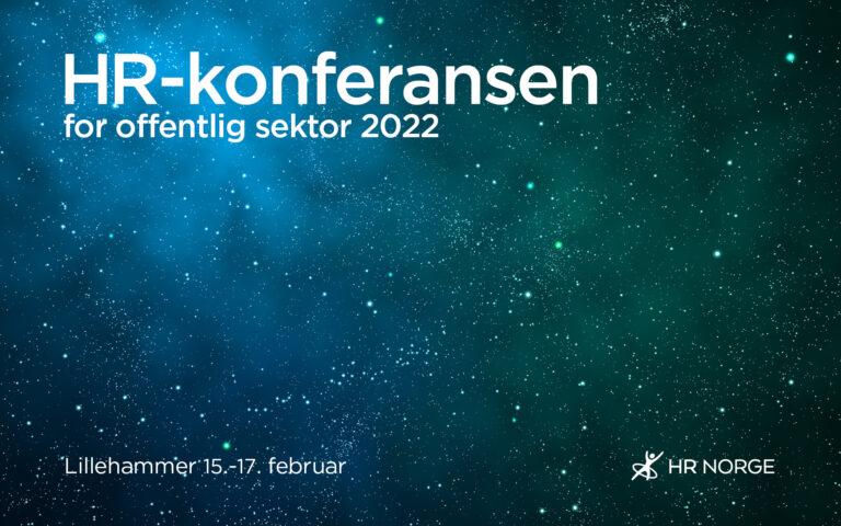 HR konferansen for offentlig sektor 2022 Landingssiden 1610 format