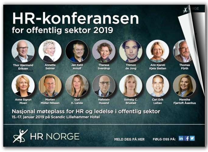 Hr Konferansen For Offentlig Sektor 2019 Forsiden