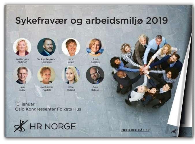 Sykefravaer Og Arbeidsmiljoe 2019 Forsidebilde
