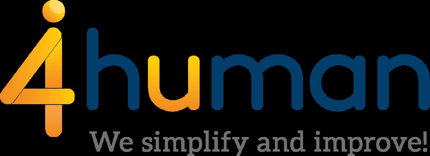 4human logo tag