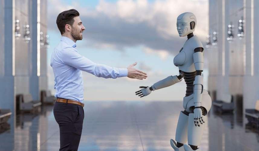 Robot menneske