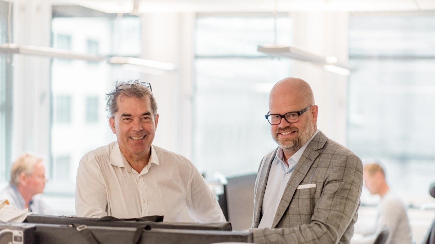 Harald Djupvik, Kantar (til venstre) og Even Bolstad, HR Norge